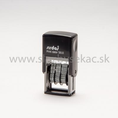 Pečiatka Sirdas 5810 - dátumovka
