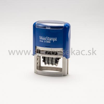 Pečiatka Mobistamp D 3050  - text+dátum